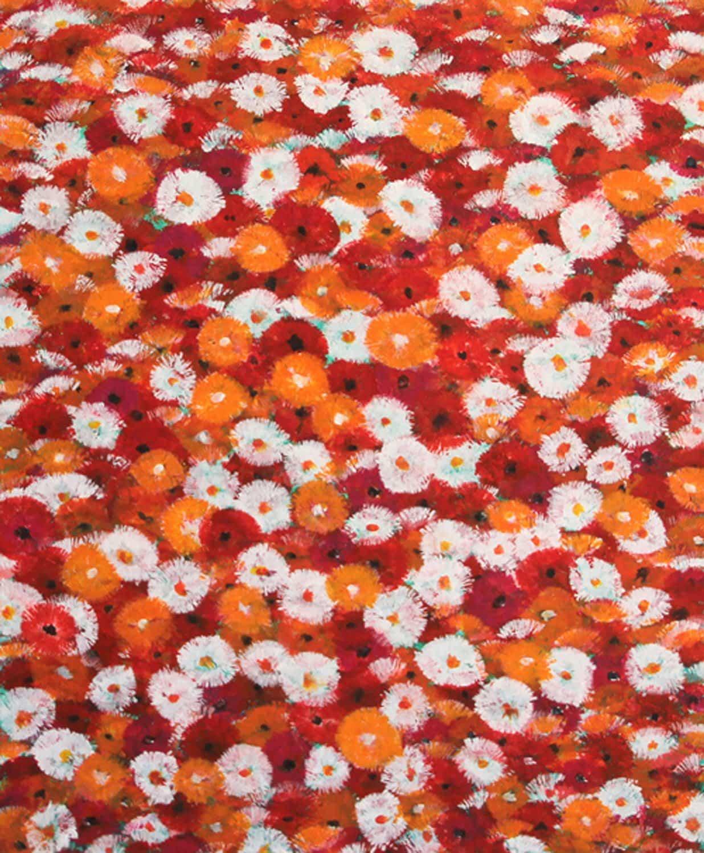 Flores rojas y blancas – tres colores II