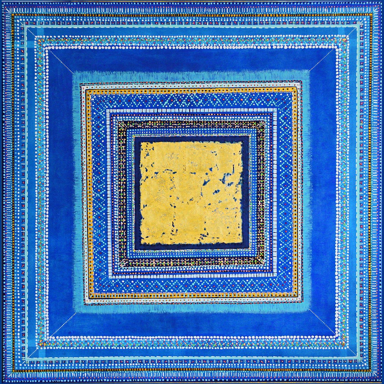 Marokko azul I verkauft