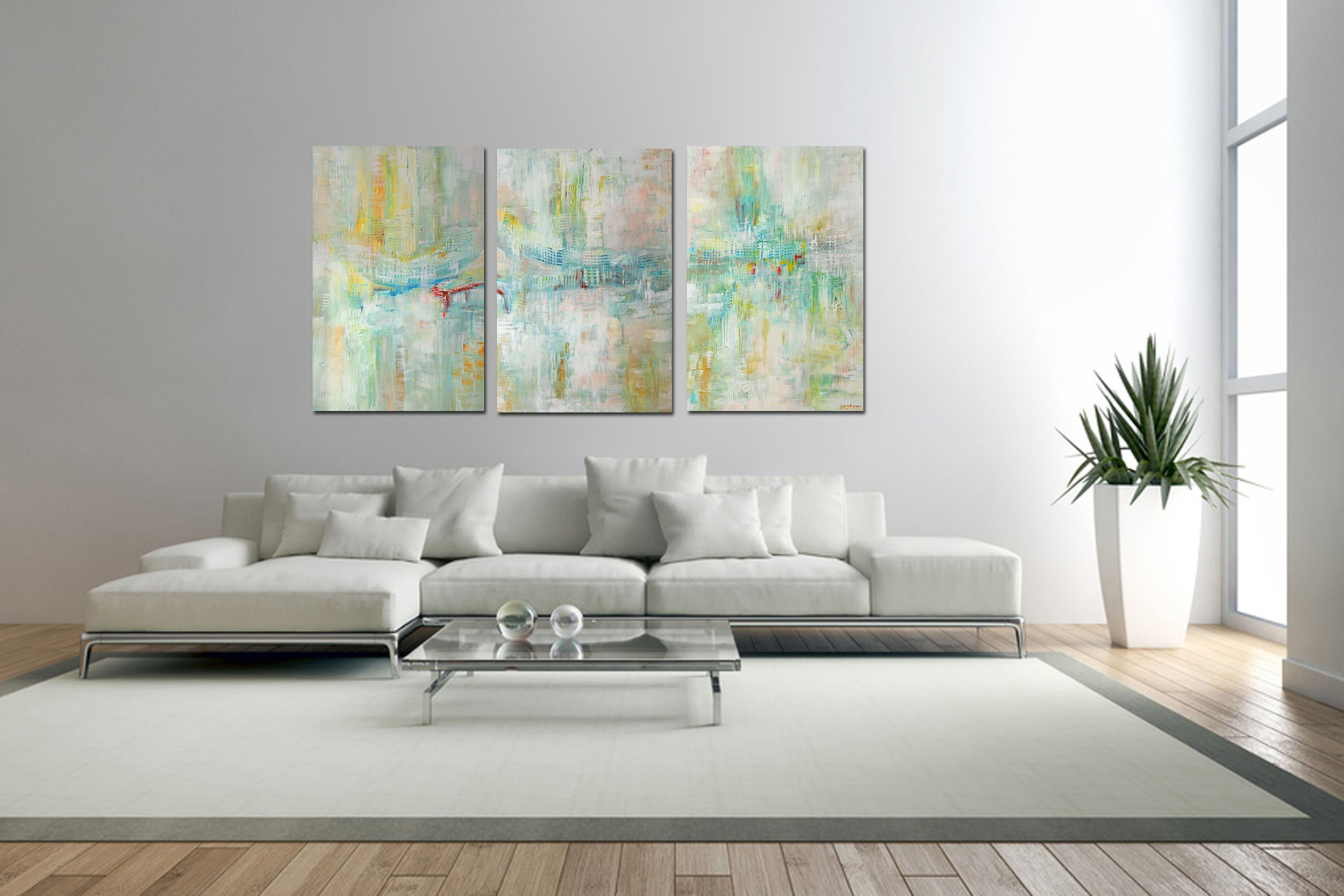 Peripherie Triptychon verkauft