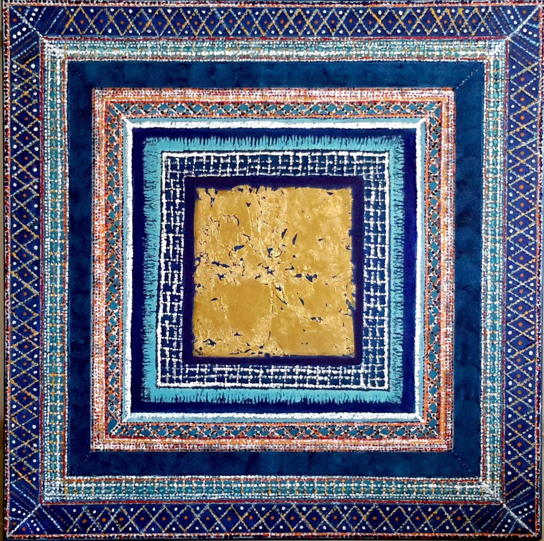 Marokko dunkelblau verkauft